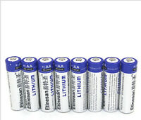 8pcs/lot Etinesan li-ion powerful AA batteries lithium fou battery for toys ect