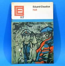 DDR Erzählerreihe 117 Haß | Eduard Claudius 1966
