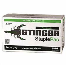 National Nail 136360 Stinger Cap Staple 5/8 in Leg