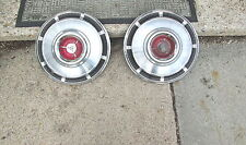 "1965 Dodge Coronet 14"" Hubcaps Hub Caps 1964 1966 Polara MOPAR Good Condition"