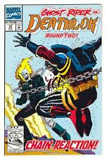 Deathlok (Vol 2) #10 (4/92)-Nm- / Ghost Rider-app/cover; Denys Cowan-art/cover^