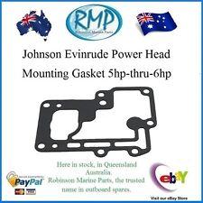 A Brand New Johnson Evinrude Power Head Mounting Gasket 5hp-thru-6hp  # 313065