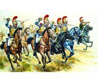 Italeri   1:72 - 6003, Französische schwere Kavallerie, 17 Reiter mit Pferd