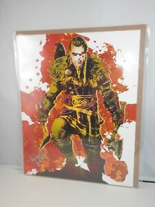 BAM! Box Exclusive Assassin's Creed Art Print -Richard Wilkes Signed Beckett COA