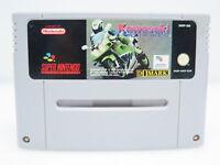 Kawasaki Superbikes | SNES Super Nintendo Spiel Videospiel | nur das Modul | PAL