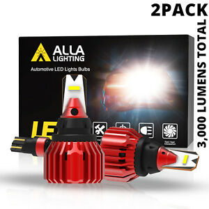LED White 921 Back Up Light Bulb Reverse Lamps for Honda,Alla Brightest Model