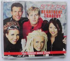 STEPS CD SINGLE HEARTBEAT & TRAGEDY