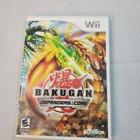 Nintendo Wii Bakugan Defenders of the Core complete video game