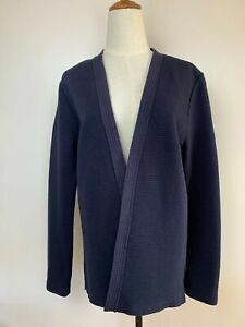 Scotch & Soda Womens Blue Cotton Kimono Style Jacket M A9