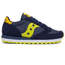 Saucony Jazz Uomo scarpe Original sneaker sportive casual blu giallo 41 42 43 44