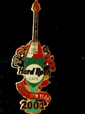 HRC hard rock cafe Myrtle Beach New year 2001 Flying v Champagne le400