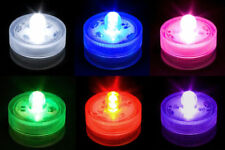 Submersible Waterproof Battery Operated TRIPLE LED Tea Lights Remote Control