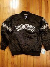 NWT Brooklyn Nets Inaugural Season Satin Starter Jacket size. XXL