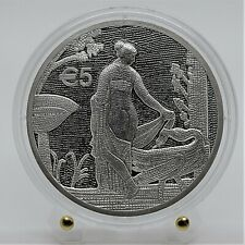 Cyprus 2020 5 Euro Proof Silver Coin -  Leda and the Swan