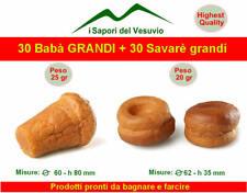 30 Babà GRANDI + 30 Savarè grandi