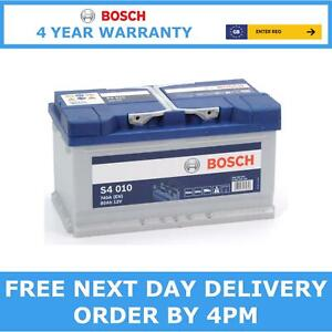 Bosch S4010 Car Battery 12V Sealed Calcium 4 Yr Warranty Type 110