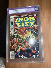 IRON FIST #15 - 1st Wolverine X-men Battle CGC 8.0 Restored - LAST ISSUE