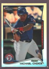 MICHAEL CHOICE MILWAUKEE BREWERS ROOKIE REFRACTOR RC SP 2014 BOWMAN CHROME