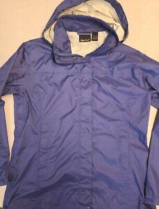 Marmot PreCip Windbreaker Rain Jacket~Purple Womens XL
