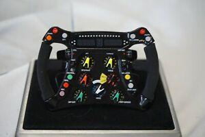 1:4 Amalgam Brawn GP BGP001 J. Button 2009 World Champion Steering Wheel