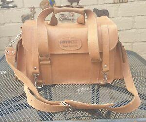 Vintage Fotocare Real Leather Camera / SLR Bag - Professional, Top Quality