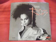 "Diana Ross ""Swept Away"" 1984 R&B Dance 7"" vinyl 45rpm W P/S EX"