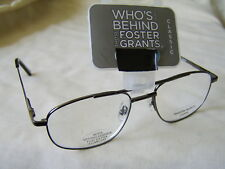 "Foster Grant ""Hardy""Metal Framed Reading Glasses RRP Upto £10.50  From £4.99..."