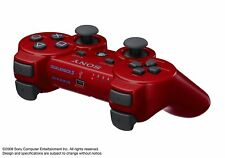 ORIGINAL SONY PLAYSTATION 3 DUALSHOCK 3 WIRELESS CONTROLLER - PS3 RED
