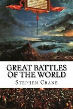Great Battles Of The World.by Crane  New 9781522780519 Fast Free Shipping<|