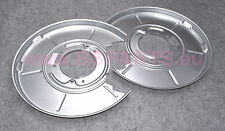 New BMW e36 e46 Rear Brake Disc Rotor Backing Protection Plate Left Right Set