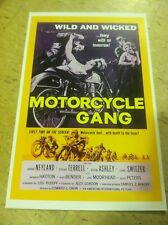 Vintage Motorcycle Gang Motorcycle Movie Poster Home Decor Art Christmas Present