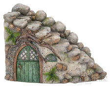 1Vivid Arts - MINIATURE WORLD FAIRY GARDEN HOME ACCESSORIES - Curved Stone Steps