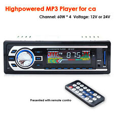 Car Stereo Audio In-Dash FM Aux Input DVD/CD USB MP3 Receiver Music Video Player