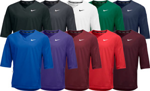 Mens Nike Baseball Short Sleeve Hot Jacket NWT $85