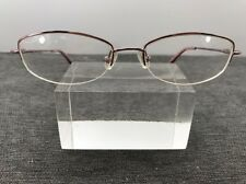Authentic Coach Eyeglasses Nadine (120) Light Rose Half Rimless Pink Print 5961