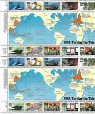 USA 1993 MNH FULL SHEET, WORLD WAR II