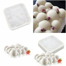 Silicone Dessert Mold 3d Sky Cloud Cake Mold Decorating Baking Chocolate Tools