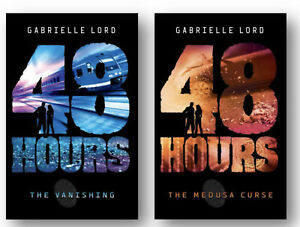 48 Hours The Vanishing, Medusa Curse by Gabrielle Lord  (Paperback)FREE ship $35
