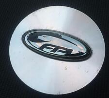 1x Ford Falcon FG FPV alloy wheel CENTRE CAP - black logo XR6 XR8 F6 GT GT-P GTP