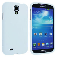 White Snap-On Hard Case Cover for Samsung Galaxy S4