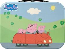 NEW PEPPA PIG TIN LUNCH BOX BENTO LUNCHBOX ICON COLLECTIBLES HOMEWARES FOR KIDS