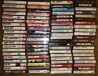 LOT OF 82 CHRISTIAN MUSIC CASSETTE TAPES ROCK GOSPEL VOCALISTS SONGD OF WORS