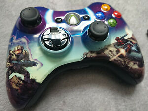 Microsoft Xbox 360 Game Controller Official HALO Collectors MINT Wireless Pad