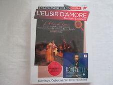 Donizetti: L 'ELISIR d ' amore-Pritchard, Ciacci, Domingo, Cotrubas - 3 CD NEW