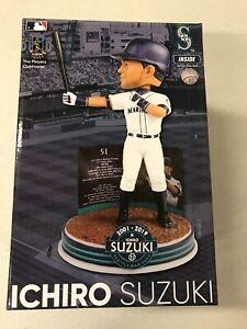 Ichiro Suzuki Bobblehead Japan MLB Baseball Seattle Mariners NYC MIA Sports