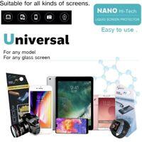 Liquid Nano Hi-Tech Screen Protector For iPhone 12 11 Pro XS X Samsung S10 S9 S8