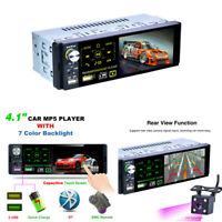 "Car 4.1""Touch Screen Bluetooth MP5/Radio Player RDS Support Subwoofer Micophone"