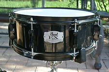 """PEARL EXPORT EX SERIES 14"""" BACK in BLACK SNARE for YOUR DRUM SET! LOT #S359"""