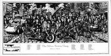 The Silver Screen Motorcycle Gang Hollywood Howard Teman Poster (48X90Cm) Print