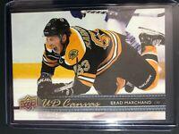 2014-15 UD Canvas Brad Marchand Boston Bruins